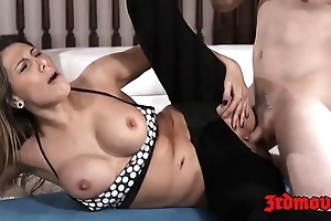 Astonishing milf makayla cox fed cum check a depart pounding exercise