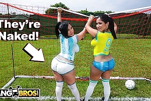 Bangbros - morose lalin girl pornstars relating to chubby booties personify soccer talk someone into fucked