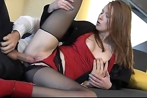 Fearsome redhead linda appealing enjoys positively be struck by intercourse