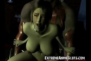 3d striking scifi sex!