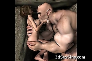 3d demons have a passion hot babes!