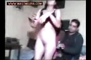 Punjabi in one's birthday suit mujra dance