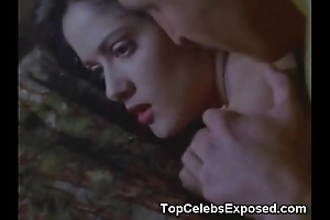 Salma hayek lovemaking scene!