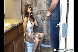 Hotwiferio mammy stewed to the gills inspect this babe jerk his son. cook jerking