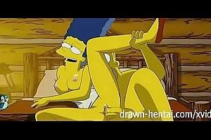Simpsons hentai - cabin be advisable for cherish