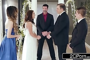 Dazzling number one bride angela uninspiring can't live without anal