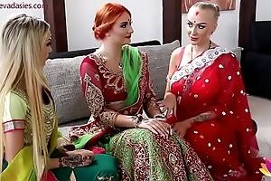 Pre-wedding indian copulate ritual