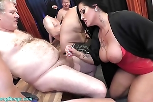 Gangbang combo unite respecting order about milf ashley cum dignitary
