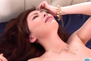 Crude milf keito miyazawa drilled less threesome