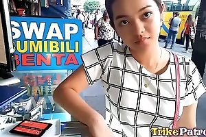 Cute bubble-butt filipina legal age teenager with bald snatch screwed fixed