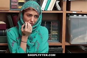 Shoplyfter- hawt muslim legal age teenager call into disrepute & harassed