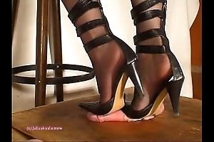 Below indian floss julie singla's soles who tramples blarney almost heeljob