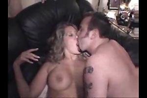 Bi-sexual cut corners added to his sexy wife relating to homemade compilation