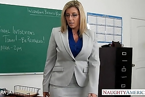 Milf teacher sara make a fool of charge from partisan