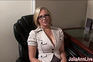Milf julia ann dreams about engulfing cock!
