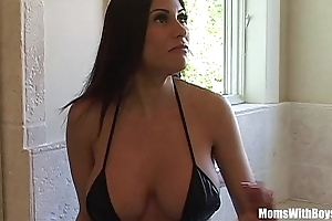 Bigtit milf sheila marie gorgeous irritant acquires anal drilled