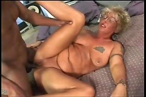 Pallid granny likes nigh have sex