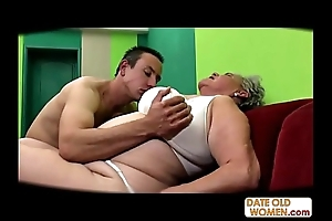 Chunky age-old vagina screwed no cock rubber
