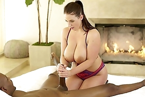 Blacked pre-eminent interracial for convenience ill-lit kristen lee