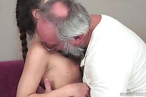 Teenie anita bellini gets fucked at the end of one's tether a old man