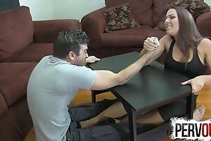 Ramification wrestling degrading occupation ballbusting femdom tugjob